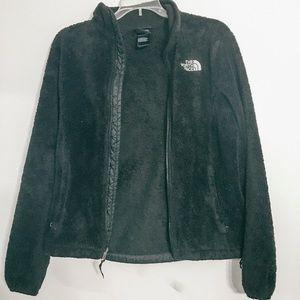 osito fleece north face black jacket